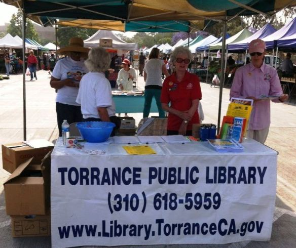 TPL at the Wilson Park Farmers Market 6-1-13